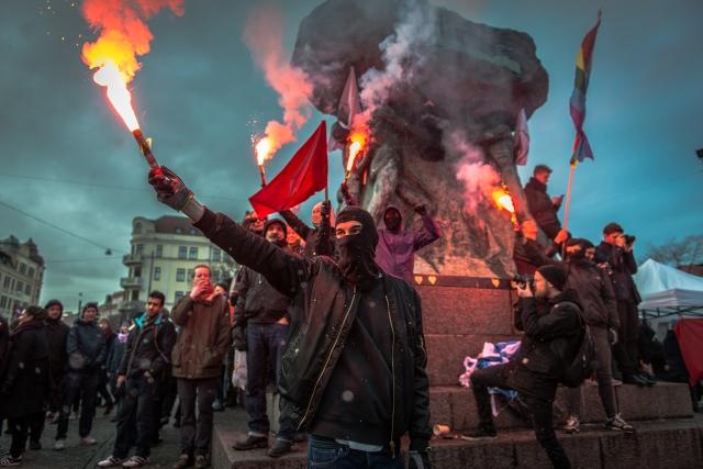 Malmö mot fascism, Victor Pressfeldt