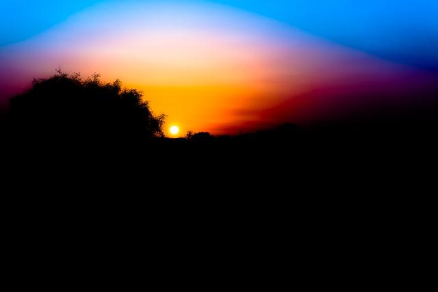 Lund, solnedgång 2
