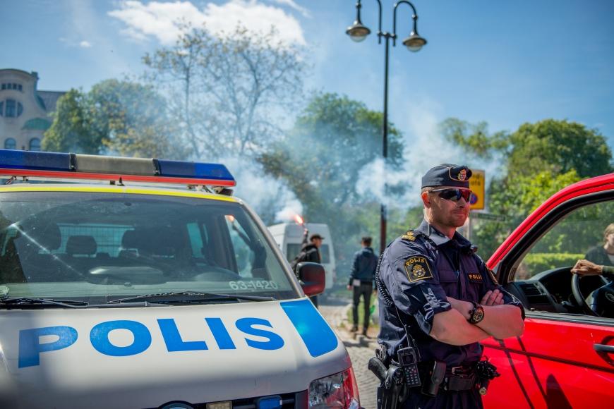 Första maj, Lund