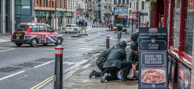 London, gripande 2014